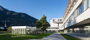 Außenansicht des REHA Zentrums Münster. Copyright: IMMAC