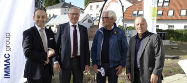 V.L.n.R.: Jens Wolfhagen, Joachim Schorling, Karsten Matzat, Reiner Brombach (Foto©KarstenKlaus)