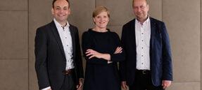 Das Geschäftsführungsteam (v.L.: Jens Wolfhagen, Mechthild Mösenfechtel, Olaf Schau) Copyright: IMMAC group